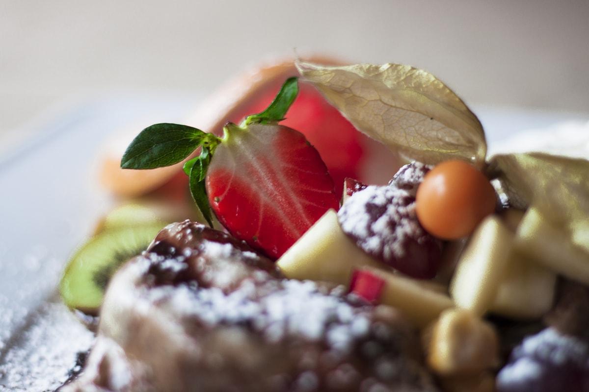 Potrawy naleśnikarni Creperie Wieliczka