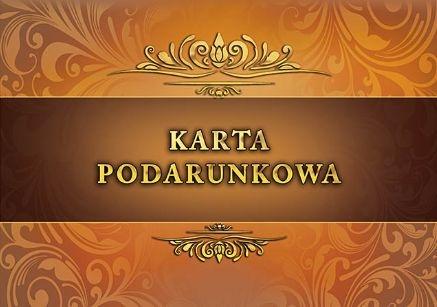 KARTY PODARUNKOWE