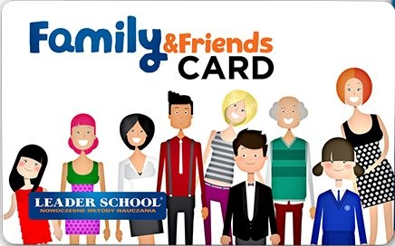 Family & Friends Card